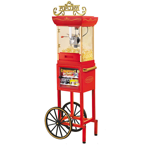 Nostalgia Electrics™ Old-Fashioned Popcorn Concession Cart