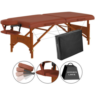 "Master® Massage Fairlane™ 28"" Portable Massage Table"