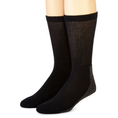Dickies® 2-pk. Non-Binding Steel Toe Crew Socks
