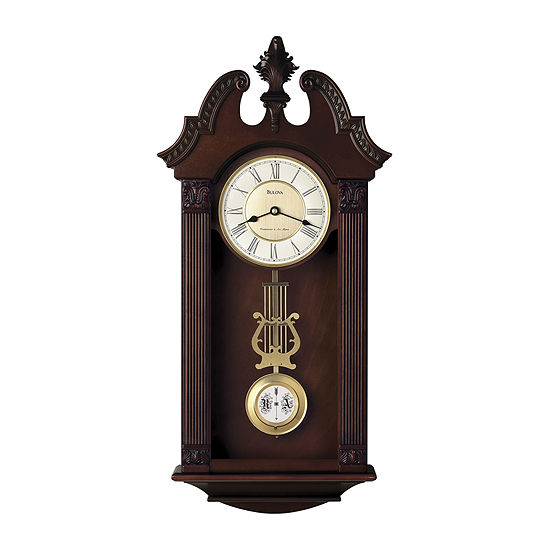 Bulova® Ridgedale Chiming Wall Clock