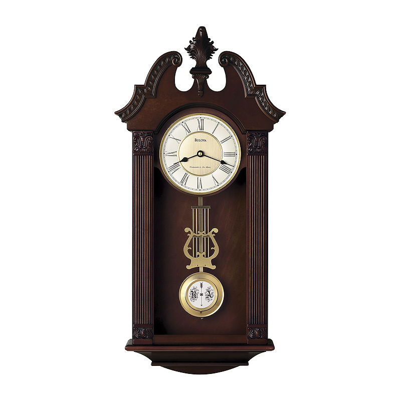 Bulova Ridgedale Chiming Wall Clock