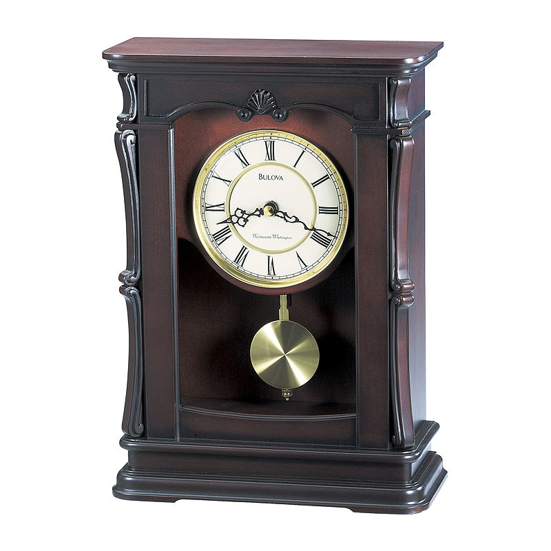 Bulova Abbeville Chiming Mantel Clock