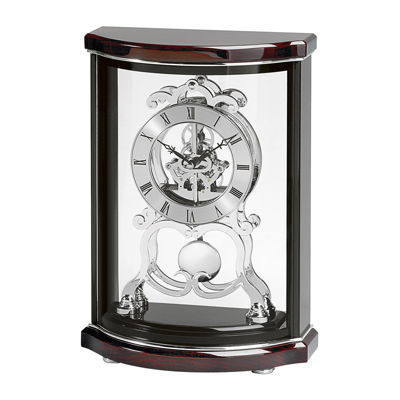 Bulova® Wentworth Skeleton Clock