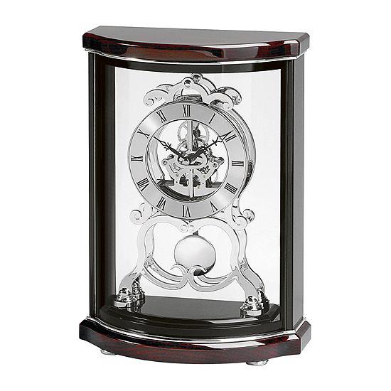 Bulova® Wentworth Skeleton Clock