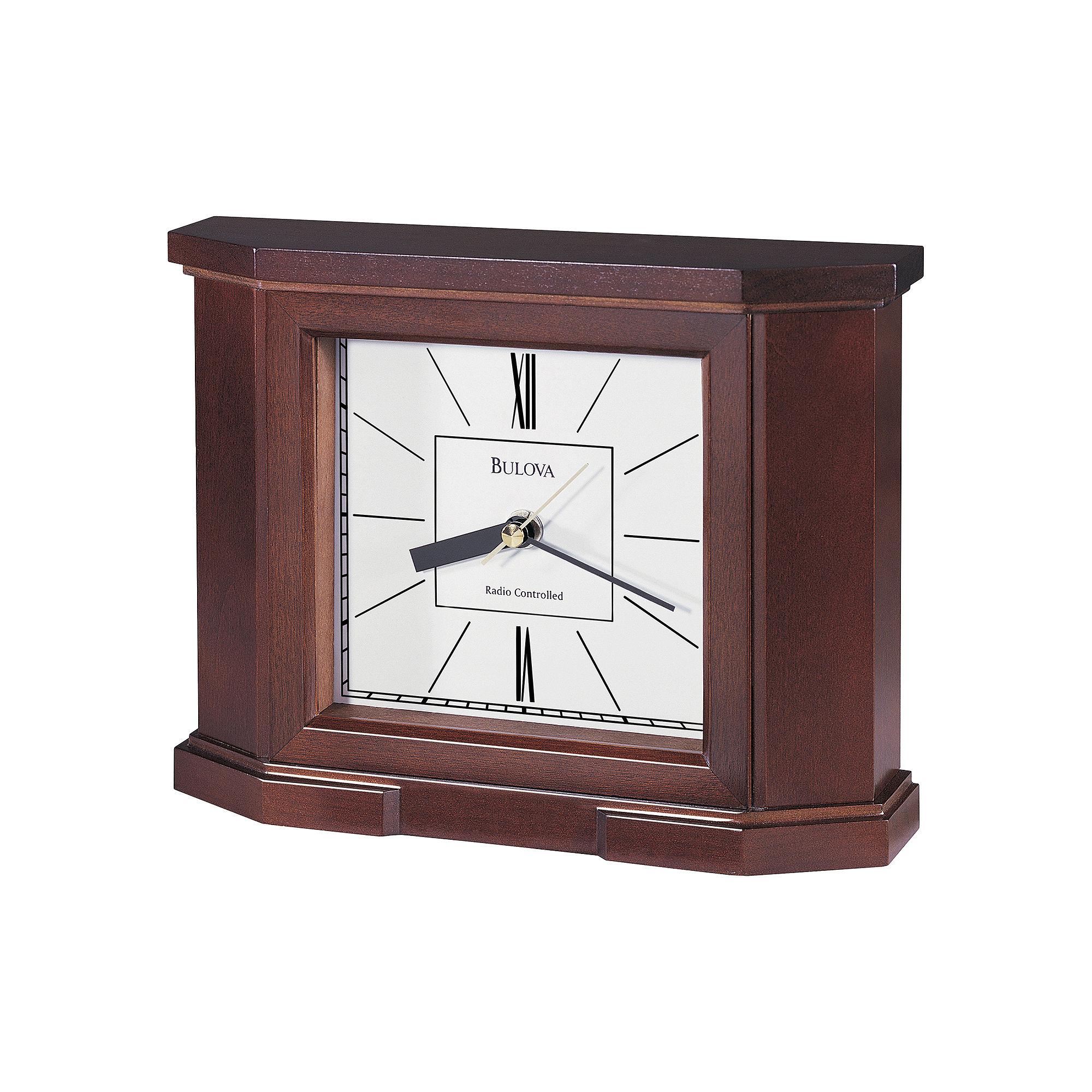 Bulova Altus Atomic Table Clock