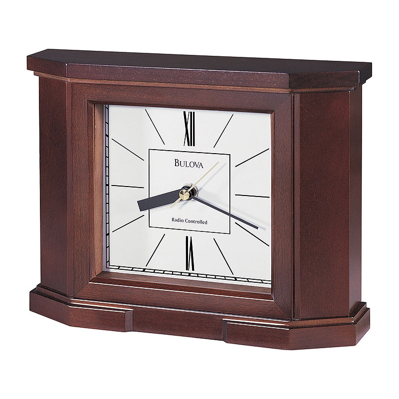 Bulova Altus Atomic Table Clock
