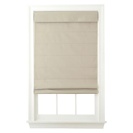 Home Exressions Dover Cordless Roman Shade - FREE SWATCH, One Size , Brown