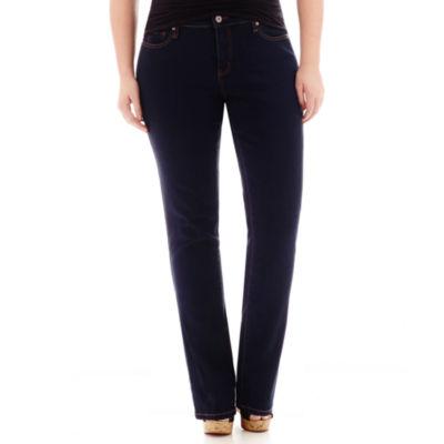 Stylus™ Slim Straight-Leg Jeans - Plus