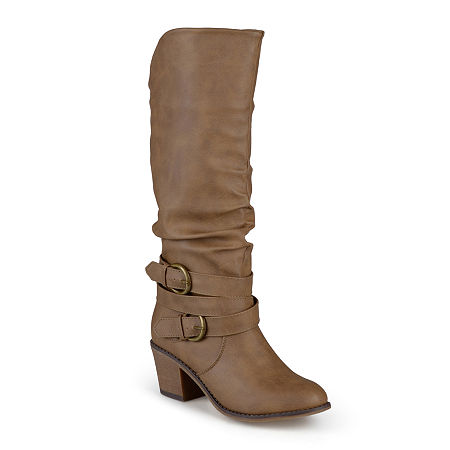 You can go all night in these riding boots featuring buckle embellishments and a smooth finish that\\\'s perfect for your casual outings.synthetic upper2\\\