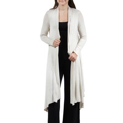 24/7 Comfort Apparel Women's Flowing Long Sleeve Shrug