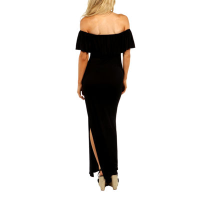 24/7 Comfort Apparel Long Cool Woman Maxi Dress