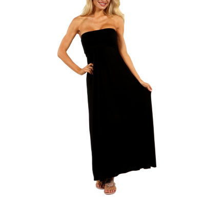 24/7 Comfort Apparel Stop And Stare Maxi Dress