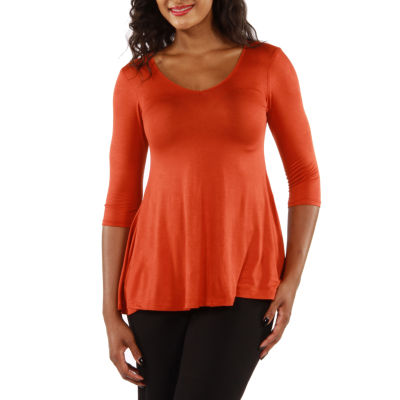 24/7 Comfort Apparel Sublime Womens Tunic Top