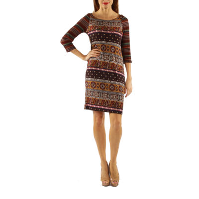 24/7 Comfort Apparel Sensuous But Sensible Shift Dress
