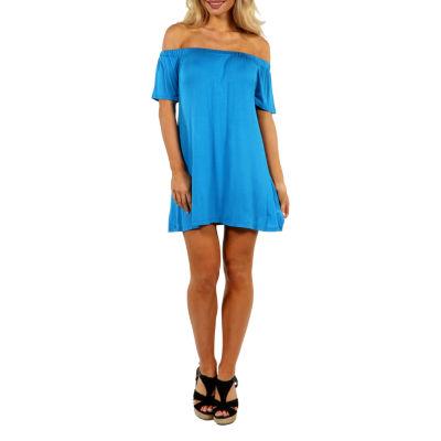24/7 Comfort Apparel Al Fresco Shift Dress