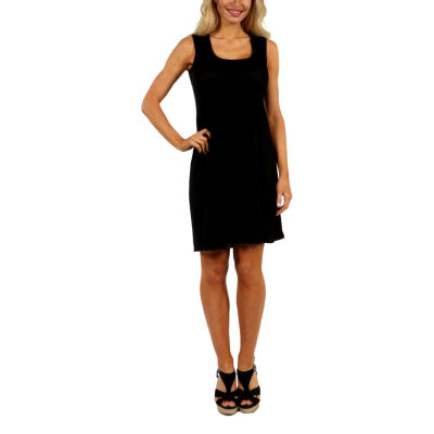 24/7 Comfort Apparel Hourglass Shift Dress