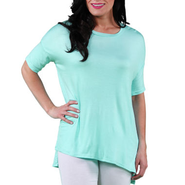 24/7 Comfort Apparel Dolman T-Shirt-Womens