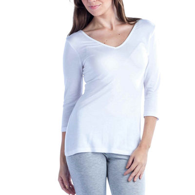 24/7 Comfort Apparel Two-In-One Tunic Top