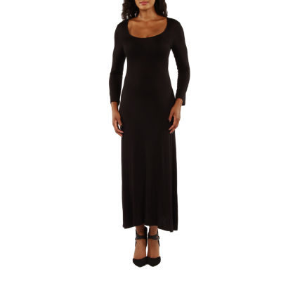 24/7 Comfort Apparel Cool Drink Of Water Maxi Dress