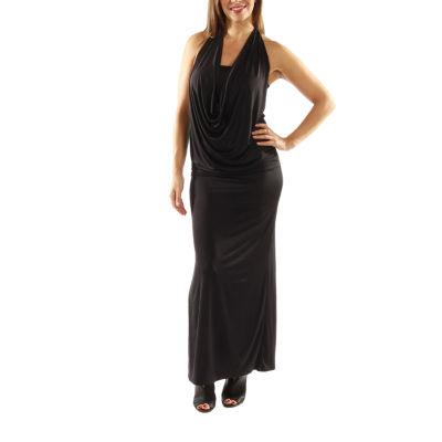 24/7 Comfort Apparel Daring And Dazzling Maxi Dress