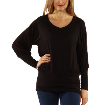 24/7 Comfort Apparel Day Into Evening Tunic Top