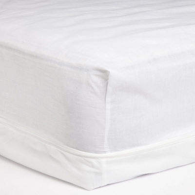 Cotton Touch Zippered Cotton/Poly Mattress Protector
