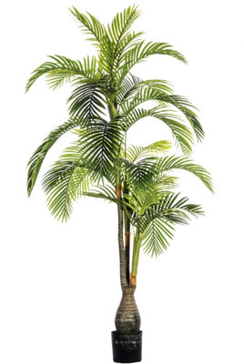 84 Inch Foot Tall Palm Tree Outdoor/Indoor