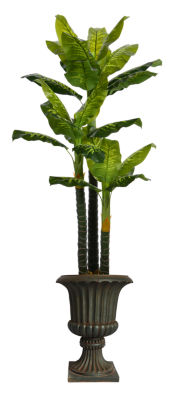 86 Inch Tall Real Touch Evergreen In Planter