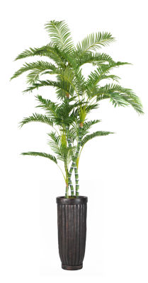 Laura Ashley 93 Inch Tall Palm Tree In Planter