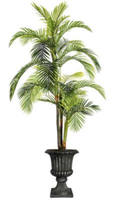 97.5 Inch Tall Palm Tree In Fiberstone Urn