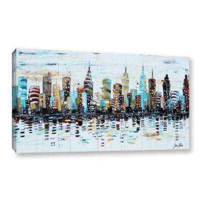 Brushstone Candyland Gallery Wrapped Canvas Wall Art