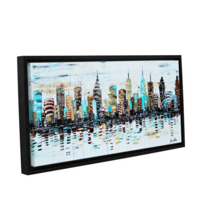 Brushstone Candyland Gallery Wrapped Floater-Framed Canvas Wall Art