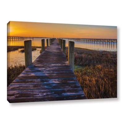 Brushstone Quiet Time II Gallery Wrapped Canvas Wall Art