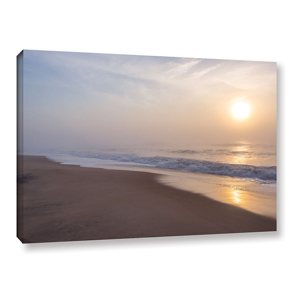 Brushstone Through The Fog II Gallery Wrapped Canvas Wall Art