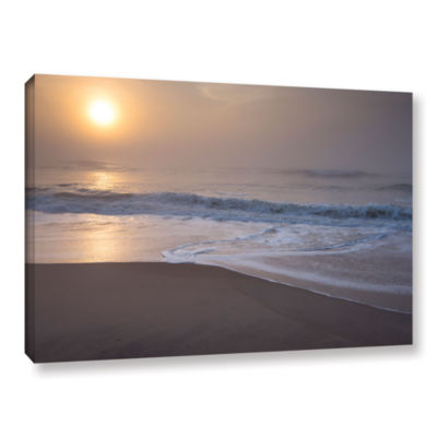 Brushstone Through The Fog III Gallery Wrapped Canvas Wall Art