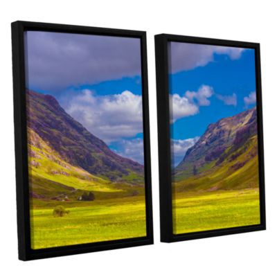 Brushstone Shadow Play 2-pc. Floater Framed CanvasWall Art