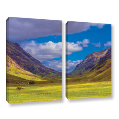 Brushstone Shadow Play 2-pc. Gallery Wrapped Canvas Wall Art
