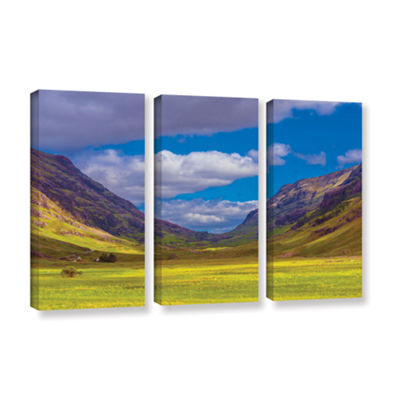 Brushstone Shadow Play 3-pc. Gallery Wrapped Canvas Wall Art