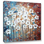 Brushstone Spring Blooms Gallery Wrapped Canvas Wall Art