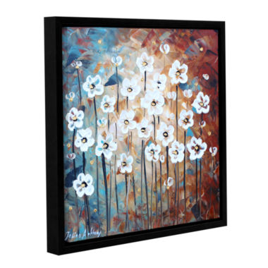 Brushstone Spring Blooms Gallery Wrapped Floater-Framed Canvas Wall Art