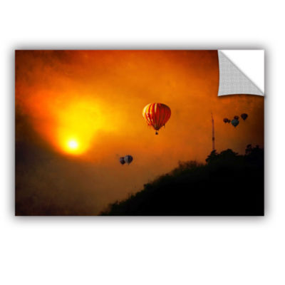 Brushstone Sunset Expedition Removable Wall Decal