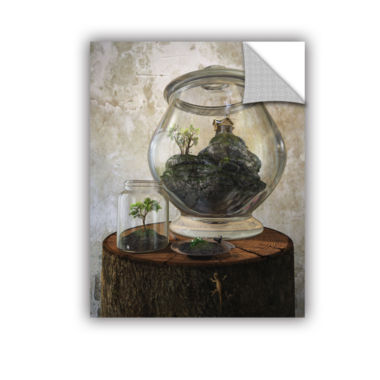 Brushstone Terrarium Removable Wall Decal