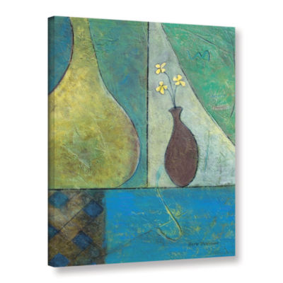 Brushstone Texture Whimsy Gallery Wrapped Canvas Wall Art