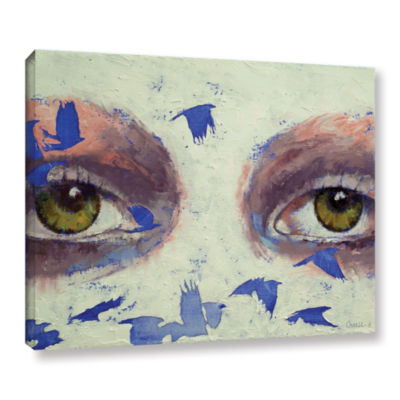 Brushstone The Crow is My Only Friend Gallery Wrapped Canvas Wall Art