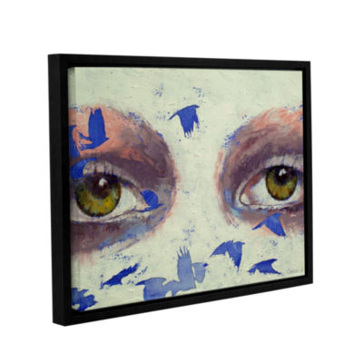 Brushstone The Crow is My Only Friend Gallery Wrapped Floater-Framed Canvas Wall Art