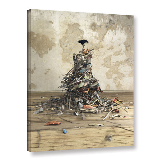 Brushstone Networth Gallery Wrapped Canvas Wall Art
