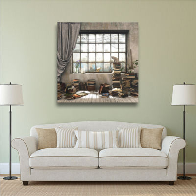Brushstone The Introvert Gallery Wrapped Canvas Wall Art