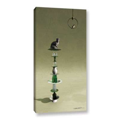 Brushstone Equilibrium 3 Gallery Wrapped Canvas Wall Art