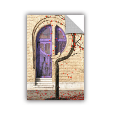 Brushstone Nouveau Removable Wall Decal
