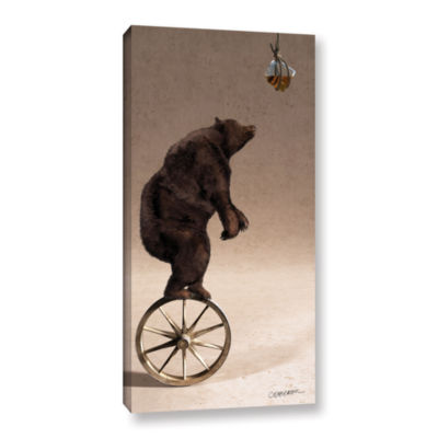 Brushstone Equilibrium 4 Gallery Wrapped Canvas Wall Art